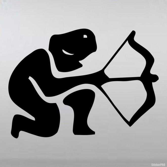 Decal Astrological sign Sagittarius (v.I)