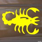 Decal Astrological sign Scorpio (v.I)