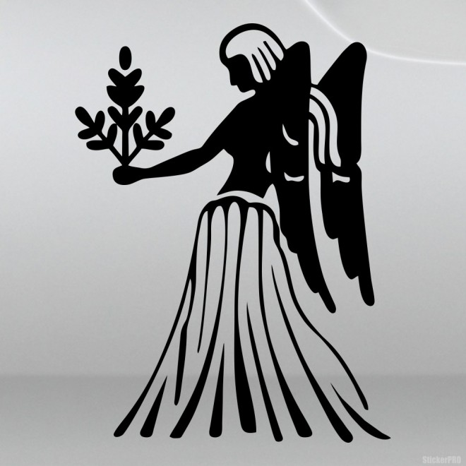 Decal Astrological sign Virgo (v.II)