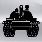 Decal Tank forces Russia Tank 2