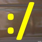 Decal embarrassed smiley symbols :/