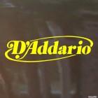 Decal D'Addario audio equipment manufacturer logo