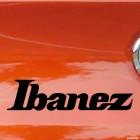 Decal Ibanez Japanese guitar manufacturer logo