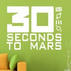Decal 30 Seconds to Mars American rock band