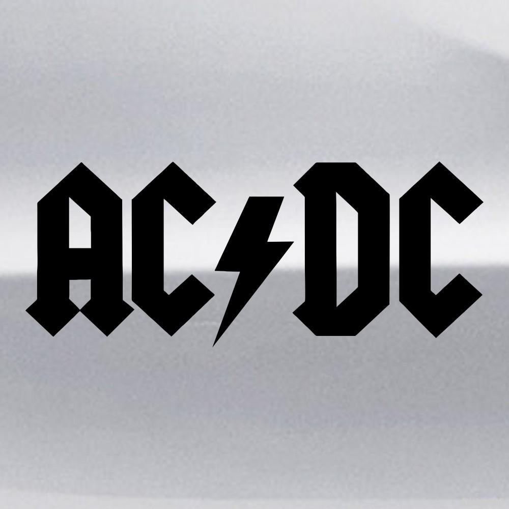 Decal Ac Dc Australian Rock Band Buy Vinyl Decals For
