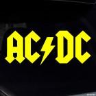 Decal AC/DC Australian rock band