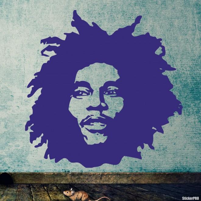 Decal Bob Marley, Jamaican singer 4