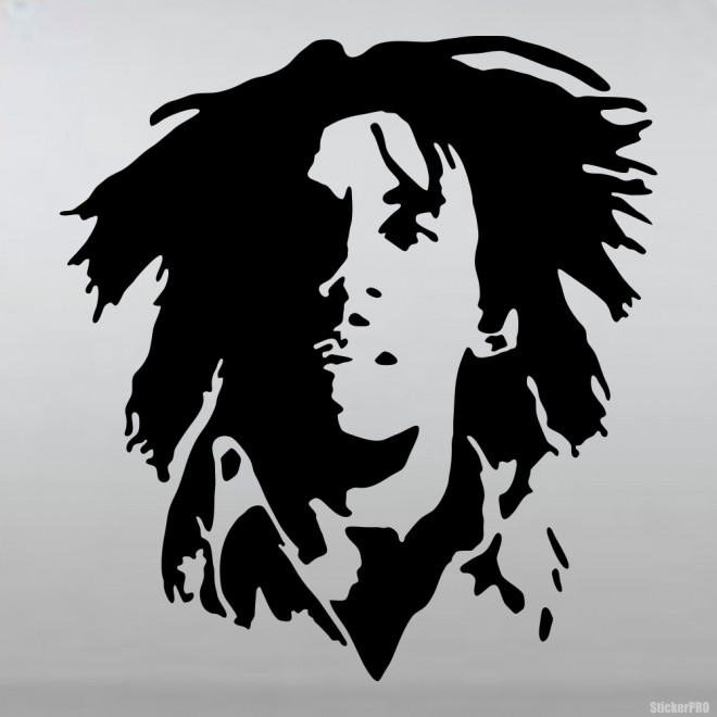 Decal Bob Marley, Jamaican singer