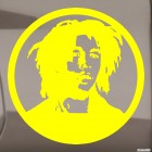 Decal Bob Marley, Jamaican singer 2