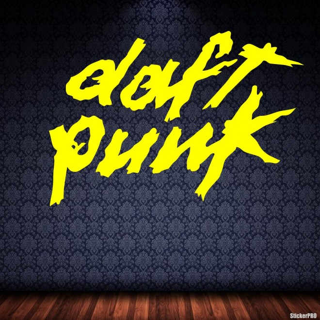 Decal Daft Punk French electronic music duo