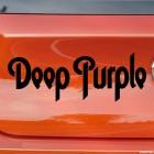 Decal Deep Purple British rock band