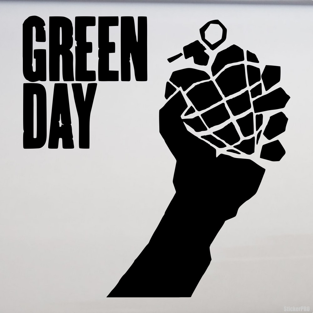 Decal Green Day American Punk Rock Band Buy Vinyl Decals