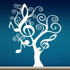 Decal tree with notes
