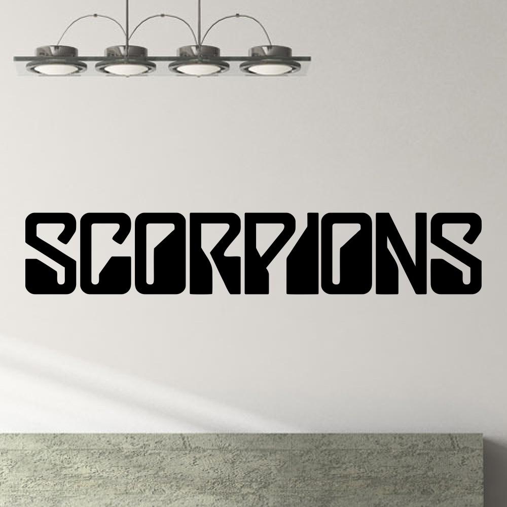 The animals band logo scorpions band logo - Decal Scorpions German Rock Group