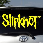 Decal Slipknot US metal band