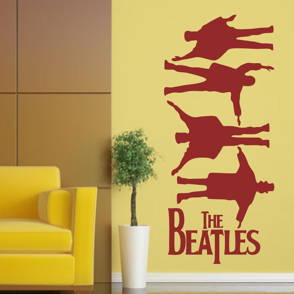 Decal The Beatles John Lennon, Paul McCartney, George Harrison and ...