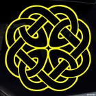 Decal celtic endless knot pattern 6