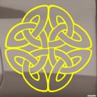 Decal celtic endless knot pattern 5