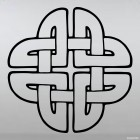Decal celtic endless knot pattern 4