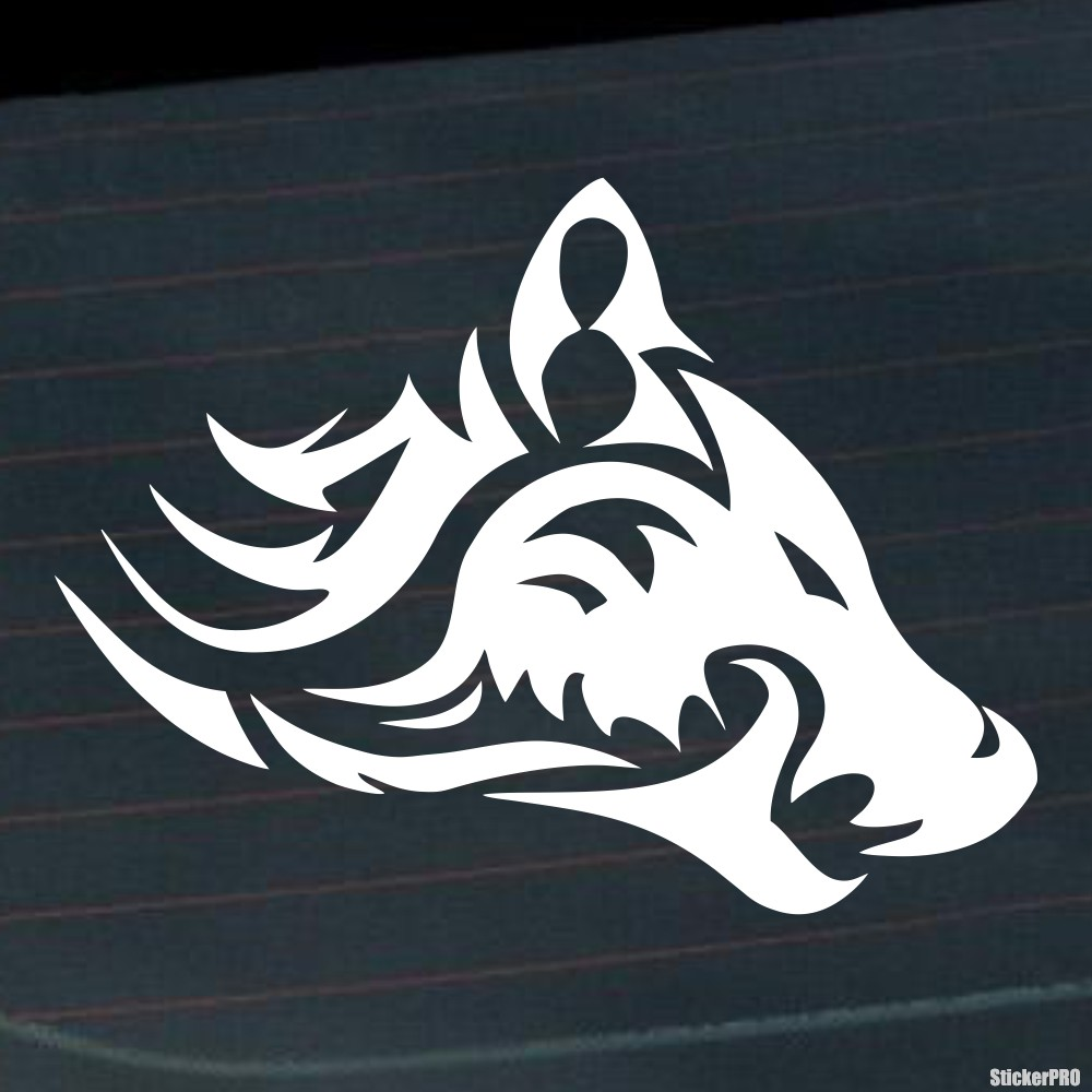 44b843fc0 Decal celtic wolf tattoo pattern ornament - Buy vinyl decals for car ...