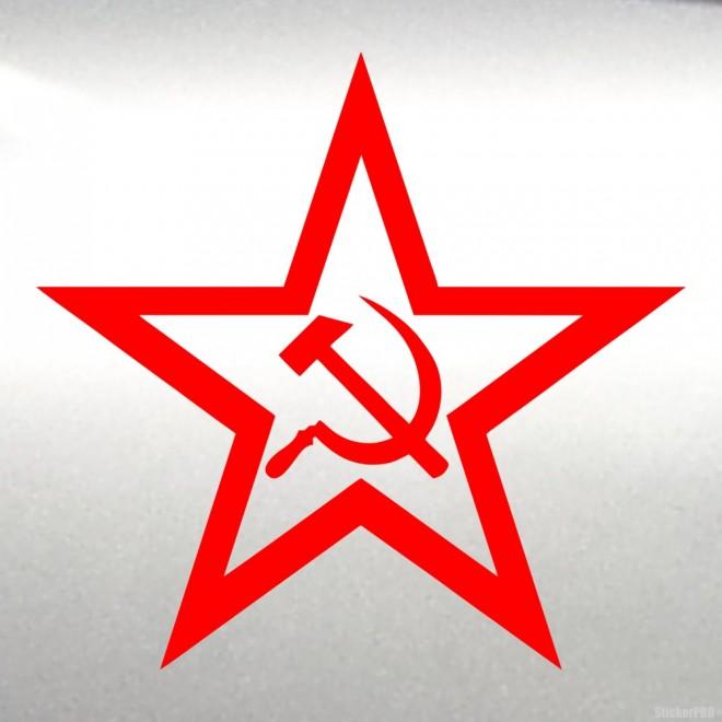 Decal star USSR