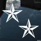 Decal 2 nautical stars