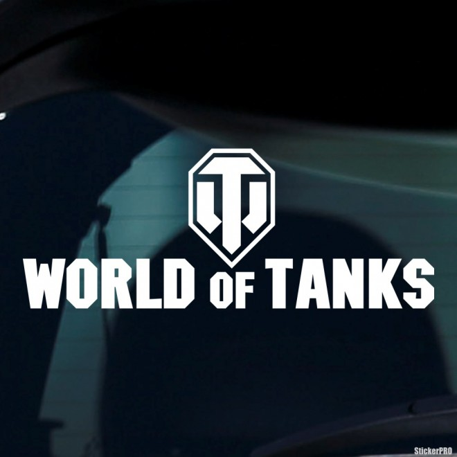 Decal World of Tanks logo online game