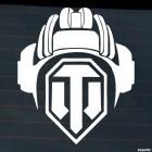 Decal World of Tanks helmet online game