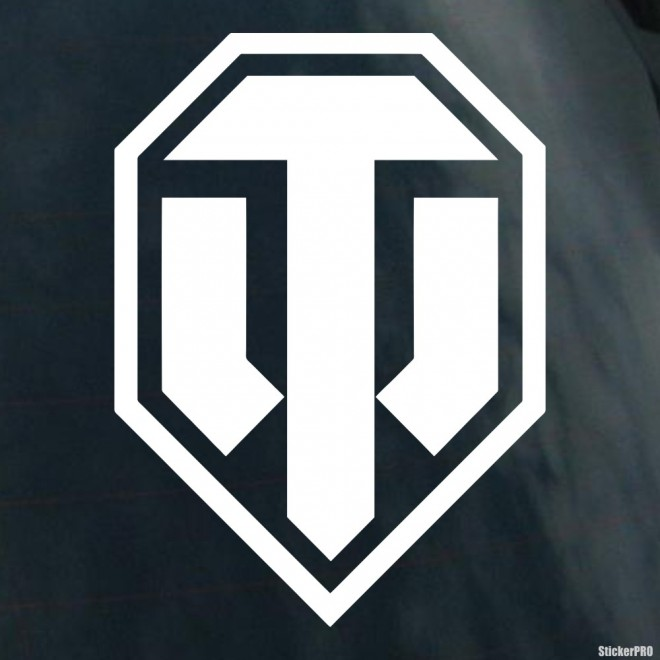 Decal World of Tanks WOT logo online game