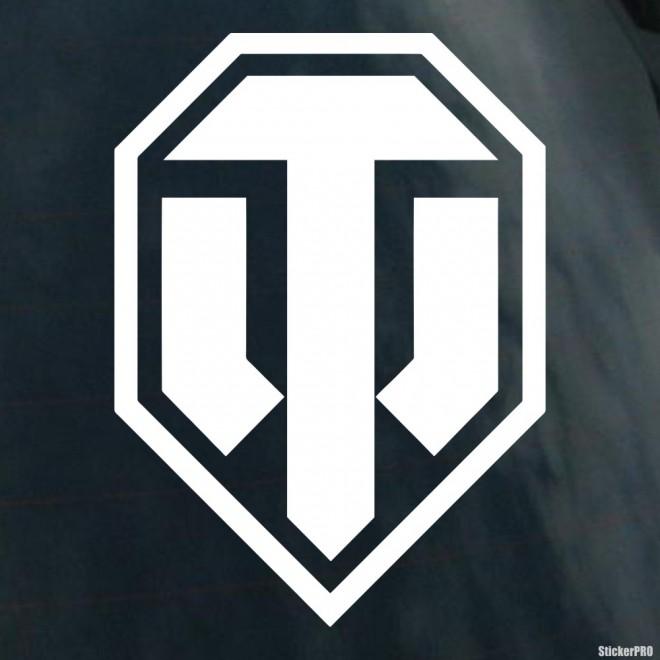 Decal World Of Tanks Wot Logo Online Game Buy Vinyl