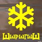 Decal Shshrshgshsh snowflake, winter sports