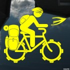 Decal bicycle tourism