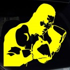 Decal boxer Mike Tyson
