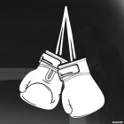 Decal boxing gloves