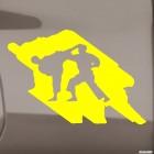 Decal karateka sparring 2