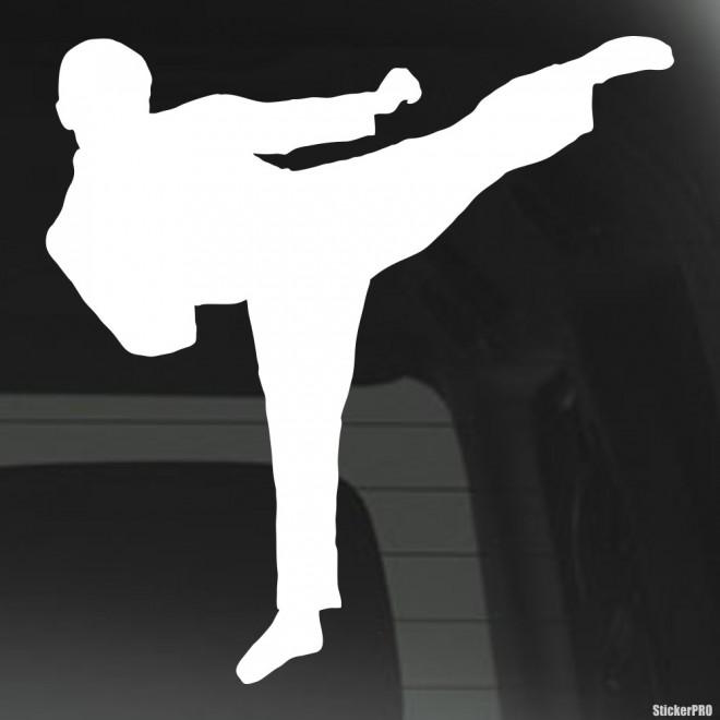 Decal karate kick