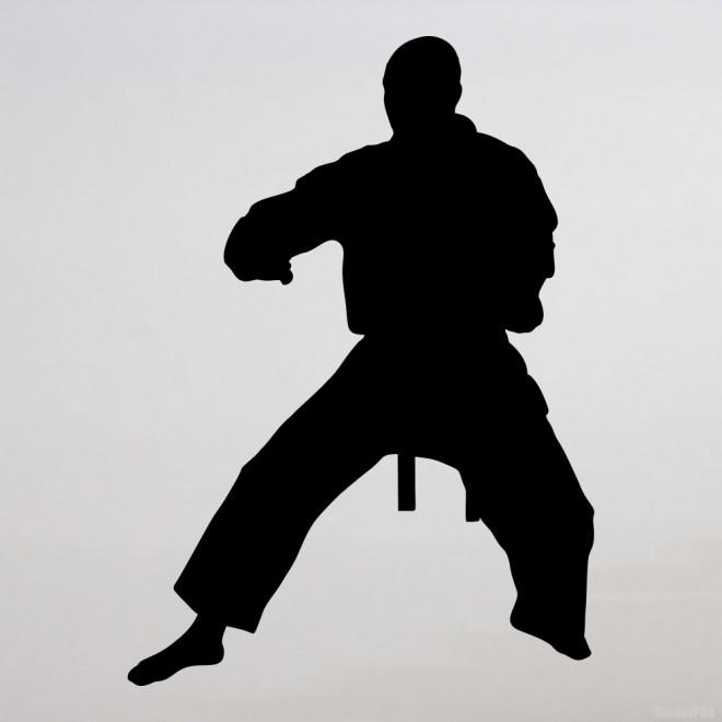Decal karateka stand 4