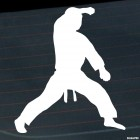 Decal karateka stand 2