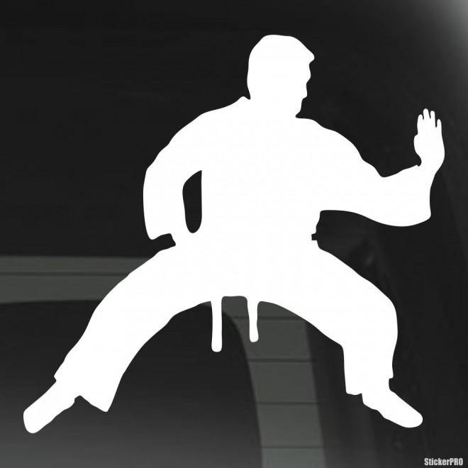 Decal karate Shiko-Dachi stand