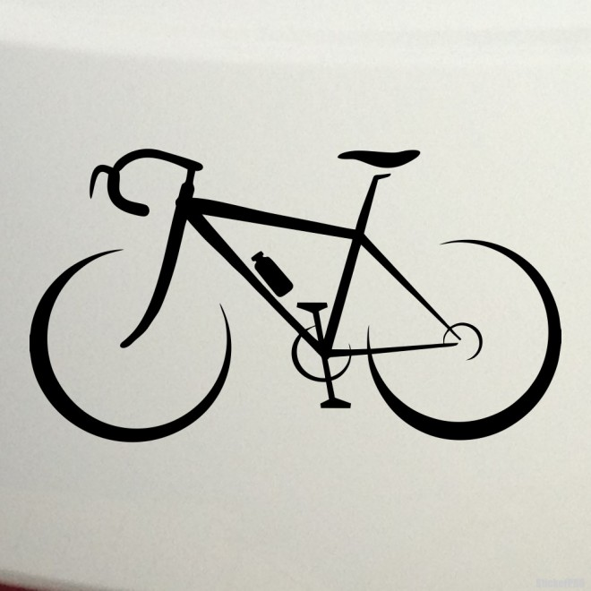 Decal road bike 2