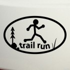 Decal trail running, cross-country running
