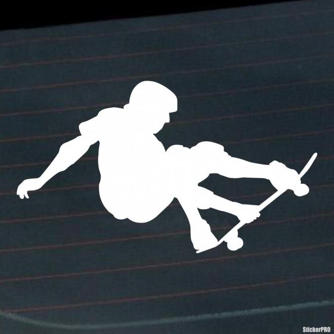 Decal skateboarder Grab