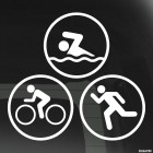 Decal triathlon
