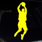 Decal basketball player jumping