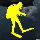 Decal diver with light