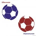 Decal soccer ball 2