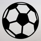 Decal soccer ball