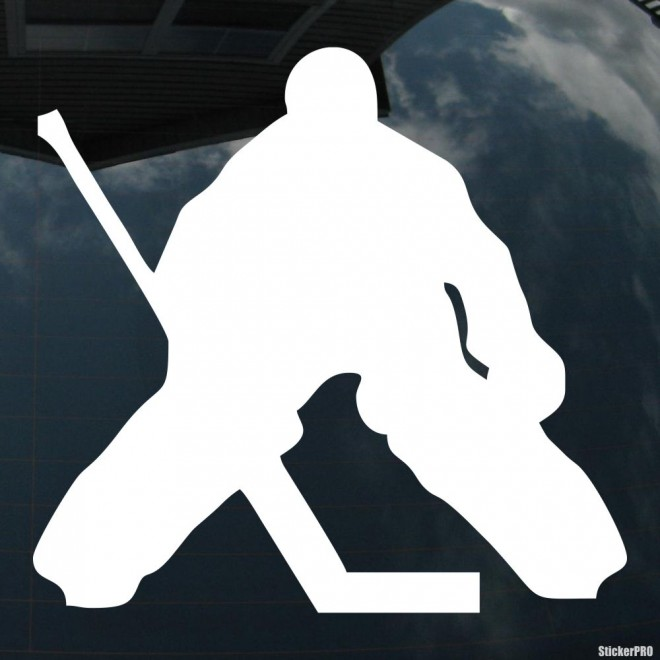 Decal goalkeeper hockey goalie, winter sports