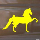 Decal show jumping horse, equestrian sport