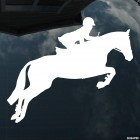Decal horse and rider